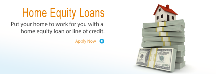 Apply for a home equity loan or line of credit